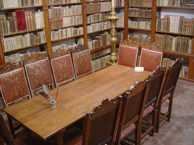 Jesuit College Library, Tepotzotlán, Estado de México, Mexico, 2006. Photo by Jason Dyck.