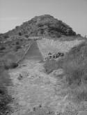 Acueducto of Tetcutzingo in Molino de Flores (from a dis#a3b