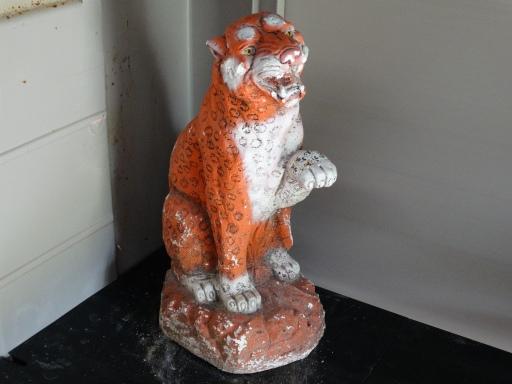 Porcelain Tiger, ca. 1980s.