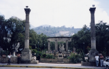 Central Square, Quetzaltenango. Photo by Jason Dyck